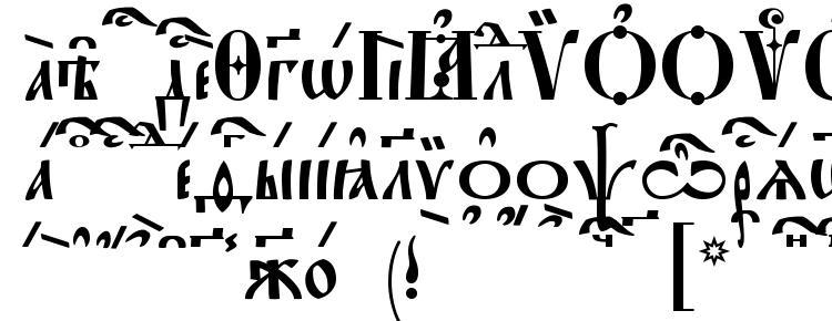 glyphs StaroUspenskaya kUcs font, сharacters StaroUspenskaya kUcs font, symbols StaroUspenskaya kUcs font, character map StaroUspenskaya kUcs font, preview StaroUspenskaya kUcs font, abc StaroUspenskaya kUcs font, StaroUspenskaya kUcs font