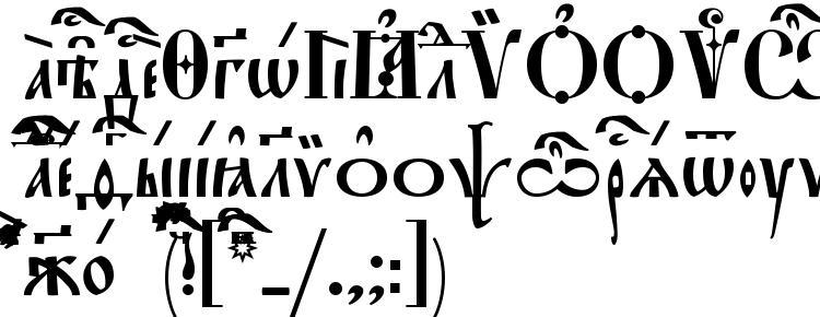 glyphs StaroUspenskaya Ucs font, сharacters StaroUspenskaya Ucs font, symbols StaroUspenskaya Ucs font, character map StaroUspenskaya Ucs font, preview StaroUspenskaya Ucs font, abc StaroUspenskaya Ucs font, StaroUspenskaya Ucs font
