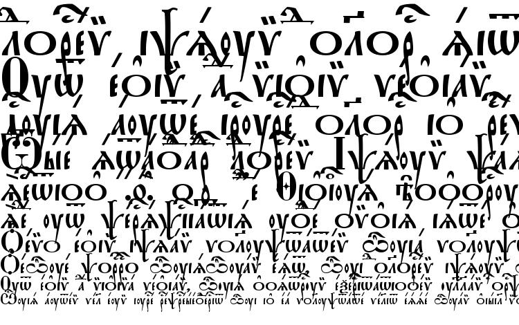 specimens StaroUspenskaya Ucs font, sample StaroUspenskaya Ucs font, an example of writing StaroUspenskaya Ucs font, review StaroUspenskaya Ucs font, preview StaroUspenskaya Ucs font, StaroUspenskaya Ucs font