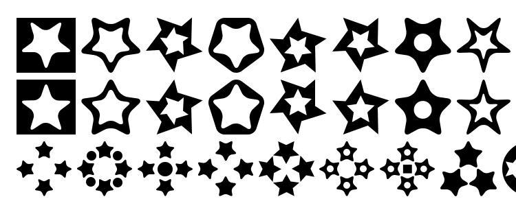 glyphs Stars for 3d fx font, сharacters Stars for 3d fx font, symbols Stars for 3d fx font, character map Stars for 3d fx font, preview Stars for 3d fx font, abc Stars for 3d fx font, Stars for 3d fx font