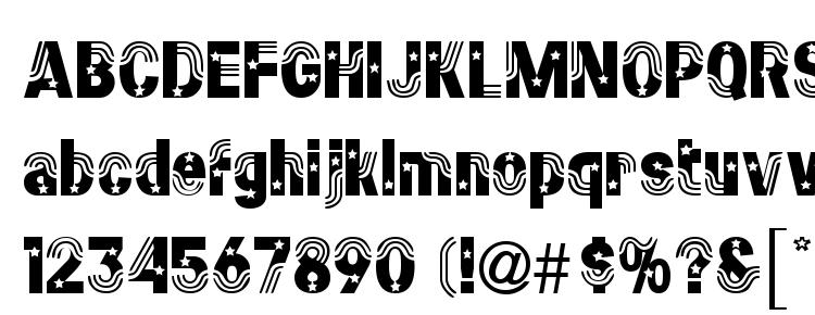 glyphs Stars&Stripes Regular font, сharacters Stars&Stripes Regular font, symbols Stars&Stripes Regular font, character map Stars&Stripes Regular font, preview Stars&Stripes Regular font, abc Stars&Stripes Regular font, Stars&Stripes Regular font