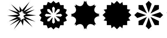 Stars1o Font