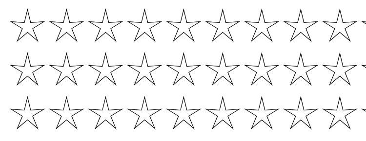glyphs Stars2 font, сharacters Stars2 font, symbols Stars2 font, character map Stars2 font, preview Stars2 font, abc Stars2 font, Stars2 font