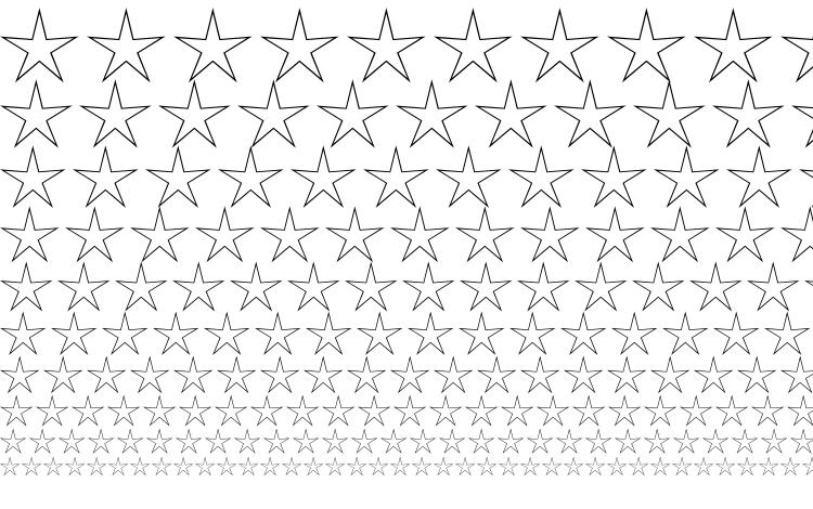 specimens Stars2 font, sample Stars2 font, an example of writing Stars2 font, review Stars2 font, preview Stars2 font, Stars2 font