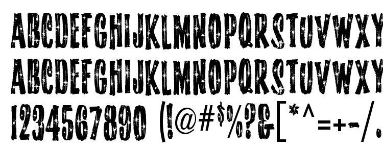 глифы шрифта Starshinemf, символы шрифта Starshinemf, символьная карта шрифта Starshinemf, предварительный просмотр шрифта Starshinemf, алфавит шрифта Starshinemf, шрифт Starshinemf