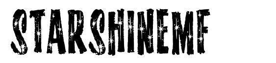 Starshinemf font, free Starshinemf font, preview Starshinemf font