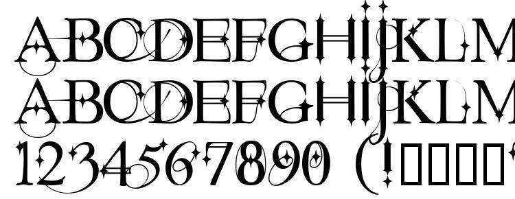 glyphs Starstruck font, сharacters Starstruck font, symbols Starstruck font, character map Starstruck font, preview Starstruck font, abc Starstruck font, Starstruck font