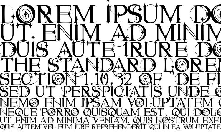 specimens Starstruck font, sample Starstruck font, an example of writing Starstruck font, review Starstruck font, preview Starstruck font, Starstruck font