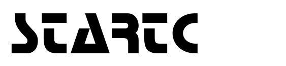 Шрифт Startc