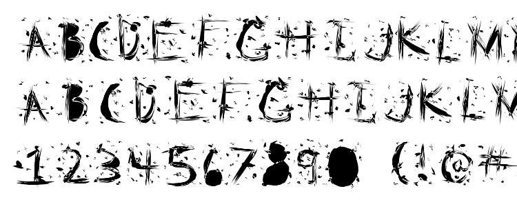 glyphs Static Cling Static font, сharacters Static Cling Static font, symbols Static Cling Static font, character map Static Cling Static font, preview Static Cling Static font, abc Static Cling Static font, Static Cling Static font