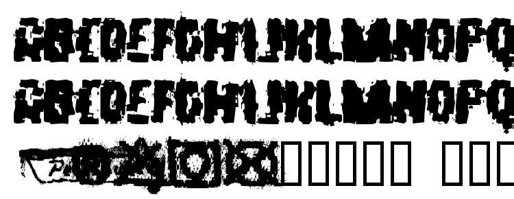 глифы шрифта Static, символы шрифта Static, символьная карта шрифта Static, предварительный просмотр шрифта Static, алфавит шрифта Static, шрифт Static