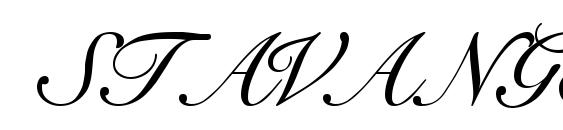 STAVANGER Regular Font