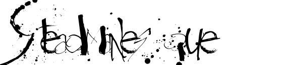 шрифт Steadmanesque, бесплатный шрифт Steadmanesque, предварительный просмотр шрифта Steadmanesque