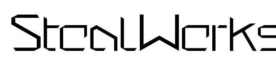StealWerks ClosedFine Font