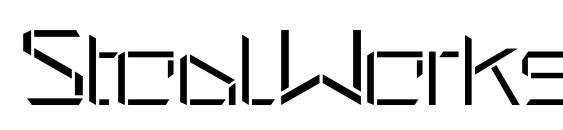 Шрифт StealWerks OpenFine