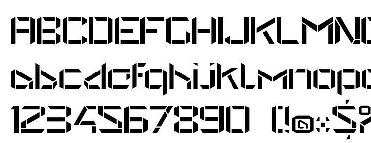глифы шрифта StealWerks OpenRegular, символы шрифта StealWerks OpenRegular, символьная карта шрифта StealWerks OpenRegular, предварительный просмотр шрифта StealWerks OpenRegular, алфавит шрифта StealWerks OpenRegular, шрифт StealWerks OpenRegular