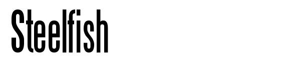 Steelfish Font