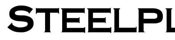 Шрифт SteelplateGothicBold