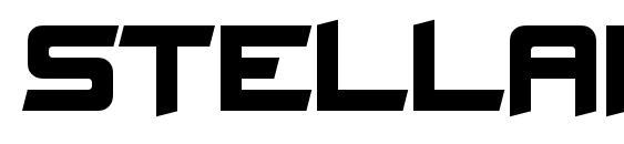 шрифт Stellar Kombat, бесплатный шрифт Stellar Kombat, предварительный просмотр шрифта Stellar Kombat