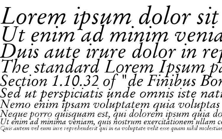 образцы шрифта Stempel Garamond LT Italic, образец шрифта Stempel Garamond LT Italic, пример написания шрифта Stempel Garamond LT Italic, просмотр шрифта Stempel Garamond LT Italic, предосмотр шрифта Stempel Garamond LT Italic, шрифт Stempel Garamond LT Italic