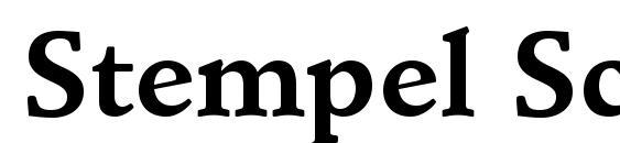 Stempel Schneidler LT Bold font, free Stempel Schneidler LT Bold font, preview Stempel Schneidler LT Bold font