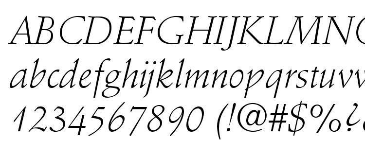 глифы шрифта StempelSchneidlerStd LtIt, символы шрифта StempelSchneidlerStd LtIt, символьная карта шрифта StempelSchneidlerStd LtIt, предварительный просмотр шрифта StempelSchneidlerStd LtIt, алфавит шрифта StempelSchneidlerStd LtIt, шрифт StempelSchneidlerStd LtIt