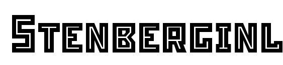 Stenberginlinec Font