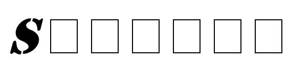 Stencil Italic font, free Stencil Italic font, preview Stencil Italic font