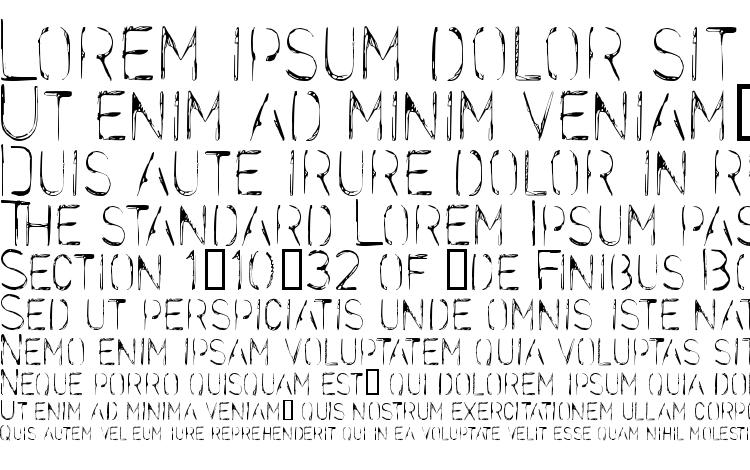 specimens Stencilcase font, sample Stencilcase font, an example of writing Stencilcase font, review Stencilcase font, preview Stencilcase font, Stencilcase font
