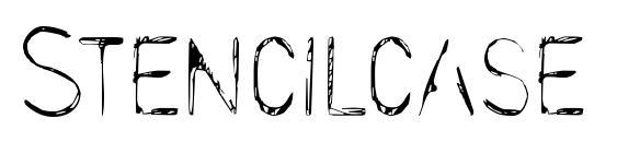 Stencilcase Font