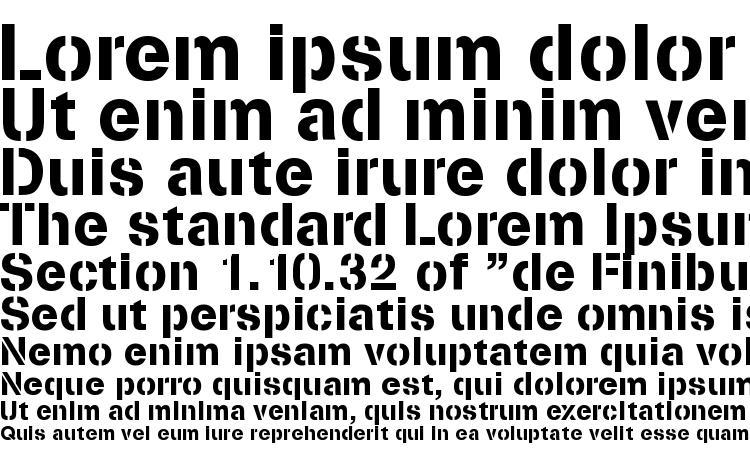 образцы шрифта Stencilia a, образец шрифта Stencilia a, пример написания шрифта Stencilia a, просмотр шрифта Stencilia a, предосмотр шрифта Stencilia a, шрифт Stencilia a