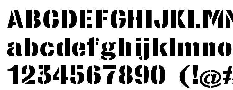 glyphs StencilSansExtrabold Regular font, сharacters StencilSansExtrabold Regular font, symbols StencilSansExtrabold Regular font, character map StencilSansExtrabold Regular font, preview StencilSansExtrabold Regular font, abc StencilSansExtrabold Regular font, StencilSansExtrabold Regular font