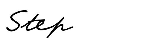 шрифт Step, бесплатный шрифт Step, предварительный просмотр шрифта Step