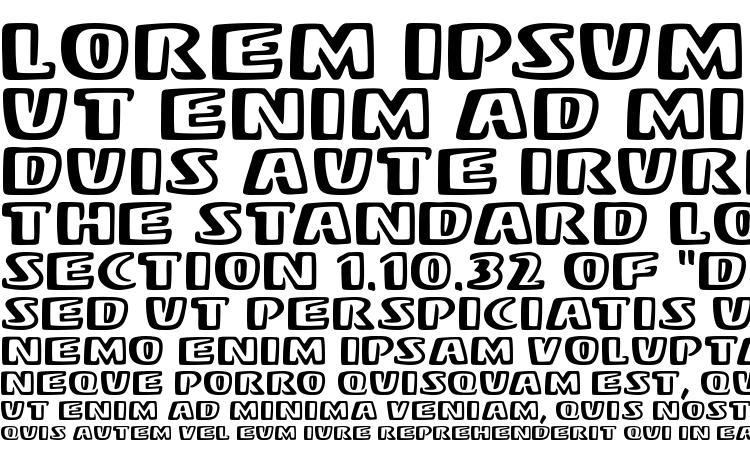 specimens Stereo MF font, sample Stereo MF font, an example of writing Stereo MF font, review Stereo MF font, preview Stereo MF font, Stereo MF font