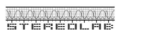 Шрифт Stereolab