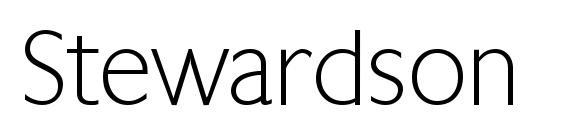 Stewardson Regular font, free Stewardson Regular font, preview Stewardson Regular font
