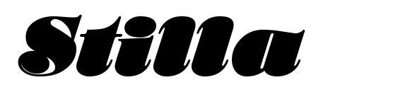 Stilla Font