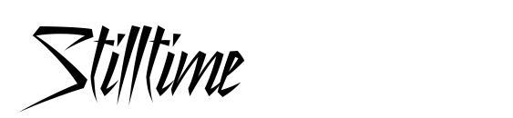 Шрифт Stilltime