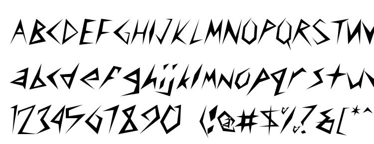 glyphs Stinger Light font, сharacters Stinger Light font, symbols Stinger Light font, character map Stinger Light font, preview Stinger Light font, abc Stinger Light font, Stinger Light font