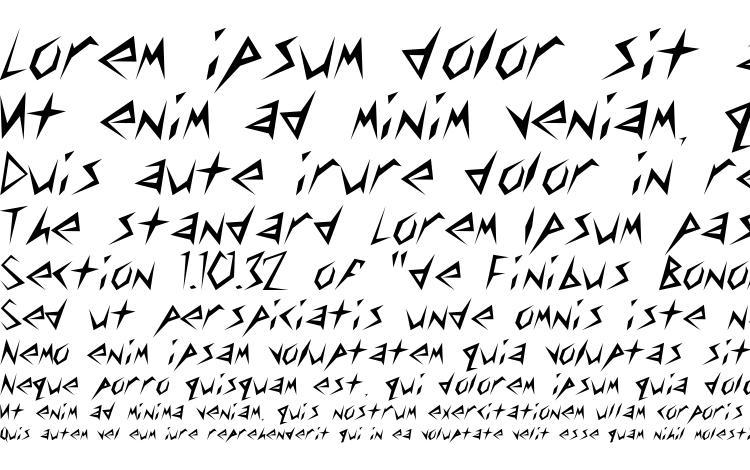 specimens Stinger Light font, sample Stinger Light font, an example of writing Stinger Light font, review Stinger Light font, preview Stinger Light font, Stinger Light font