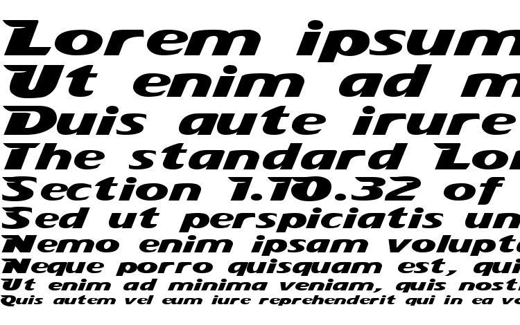 specimens StingRay font, sample StingRay font, an example of writing StingRay font, review StingRay font, preview StingRay font, StingRay font