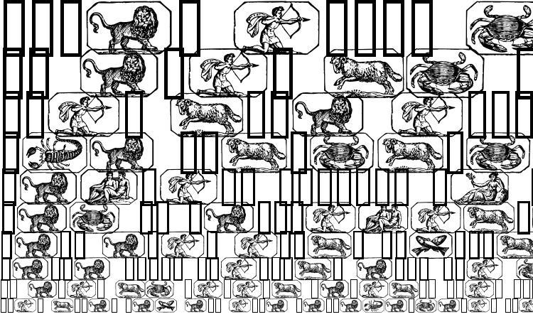 specimens Stjernetegn font, sample Stjernetegn font, an example of writing Stjernetegn font, review Stjernetegn font, preview Stjernetegn font, Stjernetegn font
