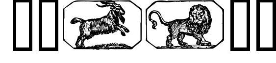 Stjernetegn font, free Stjernetegn font, preview Stjernetegn font