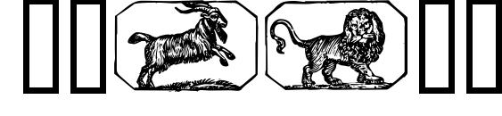 Шрифт Stjernetegn