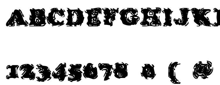 глифы шрифта Stolen LlamaRegular, символы шрифта Stolen LlamaRegular, символьная карта шрифта Stolen LlamaRegular, предварительный просмотр шрифта Stolen LlamaRegular, алфавит шрифта Stolen LlamaRegular, шрифт Stolen LlamaRegular