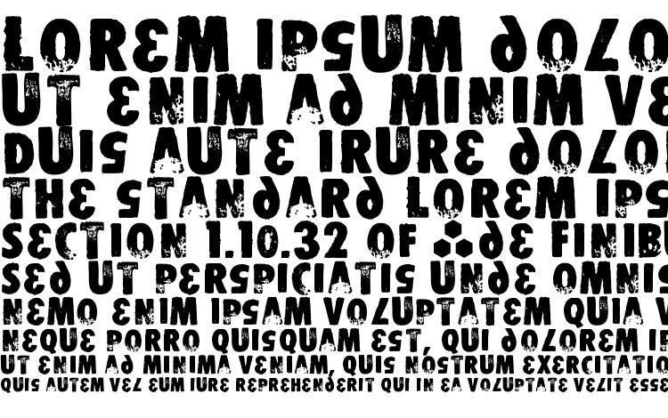 образцы шрифта STOMPER, образец шрифта STOMPER, пример написания шрифта STOMPER, просмотр шрифта STOMPER, предосмотр шрифта STOMPER, шрифт STOMPER