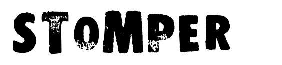 STOMPER Font