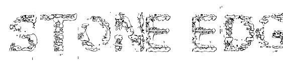 Шрифт Stone edge
