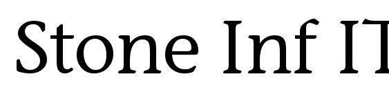Stone Inf ITC TT Medium Font