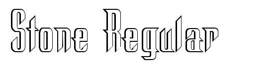 Stone Regular Font